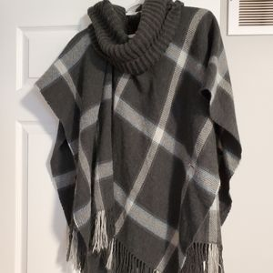 Lord & Taylor Turtleneck Shawl